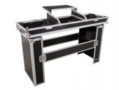 Roadinger Console Road Table Laptop+